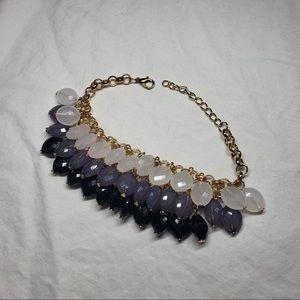 Vintage Handmade Ombré Bead Bracelet